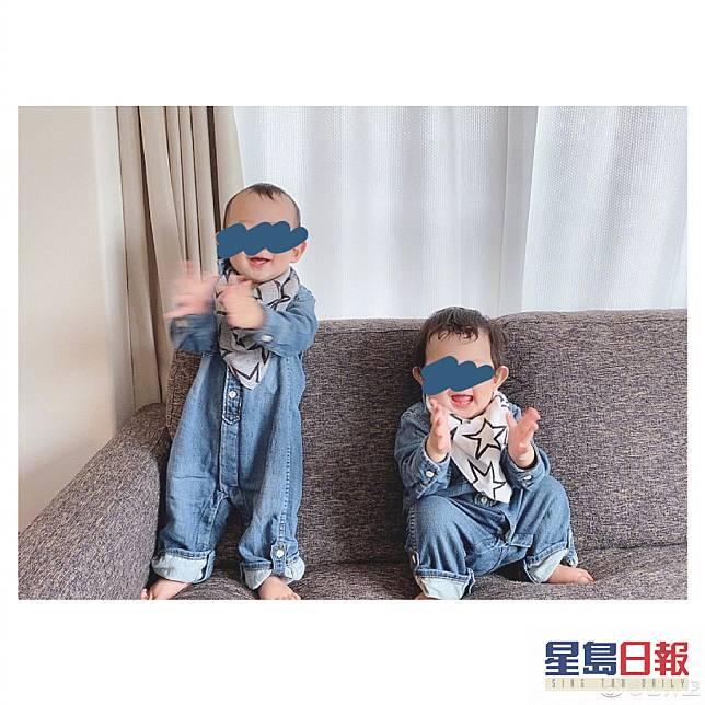 為保護兒子成長,兒子相全部遮樣。