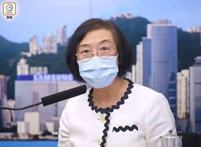 陳肇始指當局關注祿泉樓再現新冠肺炎確診個案,但居民未必需要搬離。