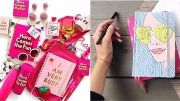 新一年就是要新的記事本!這 10 款極具設計感的行事曆,文具控少女心都必定秒速愛上!