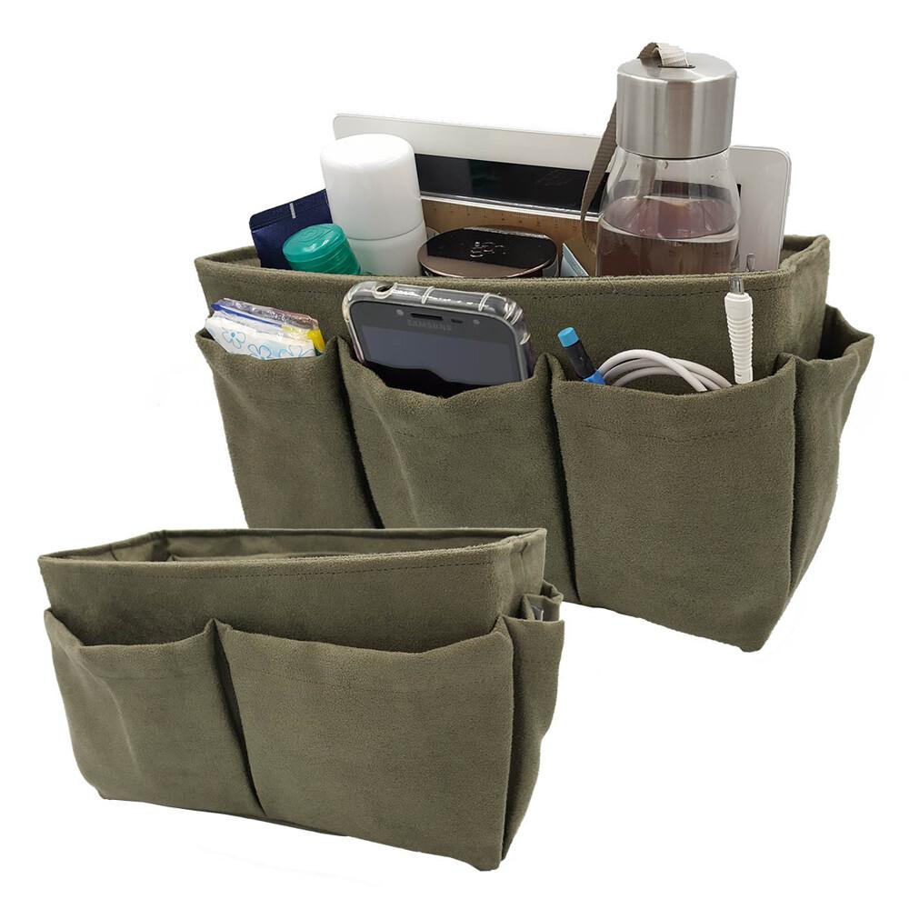 有了CoolgDesign 袋中袋多了一層保護,也不擔心小物容易被壓壞,硬挺設計也讓包包更好看! 特色: ◇美國暢銷手工包中包,針對需求所設計的包中包,貼心設計整理,換包快速、省力。 ◇U型襯版一體成
