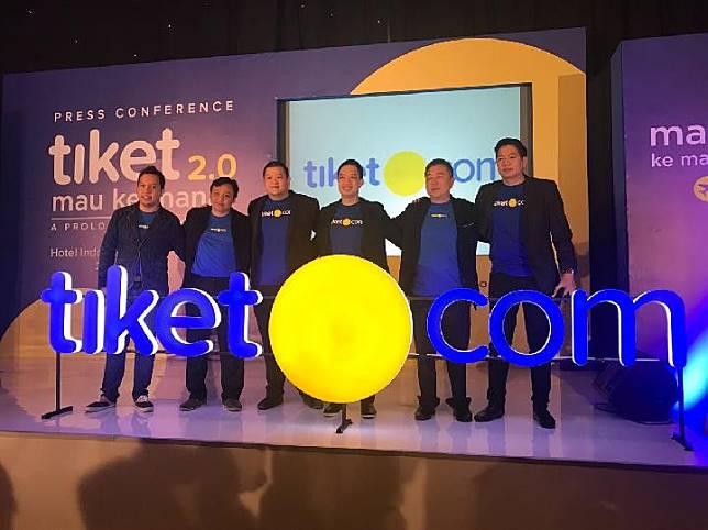 Tiket.com melakukan inovasi dan transformasi dengan meluncurkan logo baru.