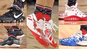 選手實著 / NBA 2017 新秀挑戰賽球員們腳下戰靴全收錄