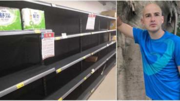 超市物資被搶光! 吳鳳怒批:人類的自私心
