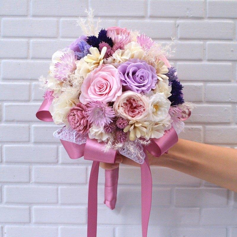 婚禮 不凋捧花 乾燥捧花 婚紗攝影 Wedding Bouquet