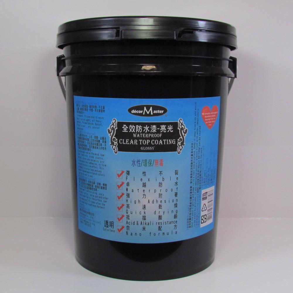 全效防水漆-亮光Clear Top Coating-Glossy-20kg