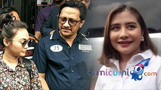 Andre Taulany dan Rina Nose dilaporkan ke Polisi, Prilly Latuconsina : Keluarga Aku Sudah Adem Ayem