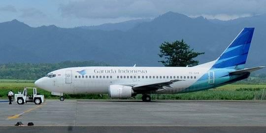 Garuda Indonesia. ©2014 merdeka.com/arie basuki
