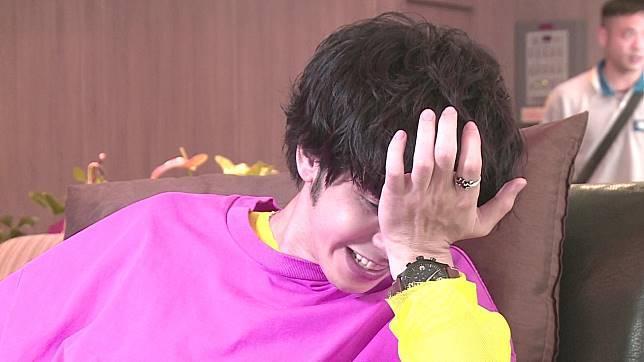 田亞霍疼到摀頭大叫。記者蘇聖倫/攝影