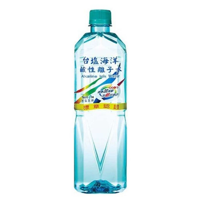 【限宅配】【限寄1箱】台鹽 海洋鹼性離子水(600mlx24瓶) 礦泉水 鹼性水 飲用水 瓶裝水