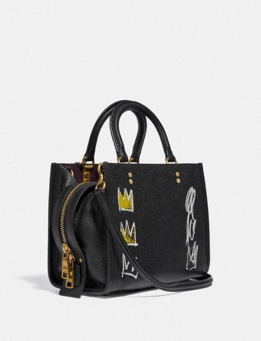 Coach X Jean-Michel Basquiat Rogue 25黑色 $29500/個 台售35800