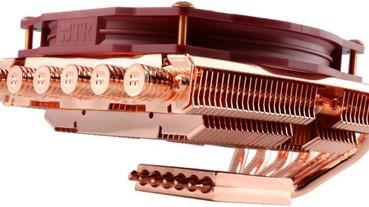 高度壓低更適合 Mini-ITX,Thermalright 推出 AXP-100 Full Copper 全銅版散熱器