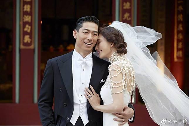 恭喜林志玲嫁給幸福 1117婚禮最美照片曝光
