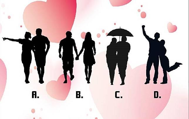 ▲直覺選出哪對是夫妻?秒解你的「桃花指數」。(圖/翻攝自美日誌)
