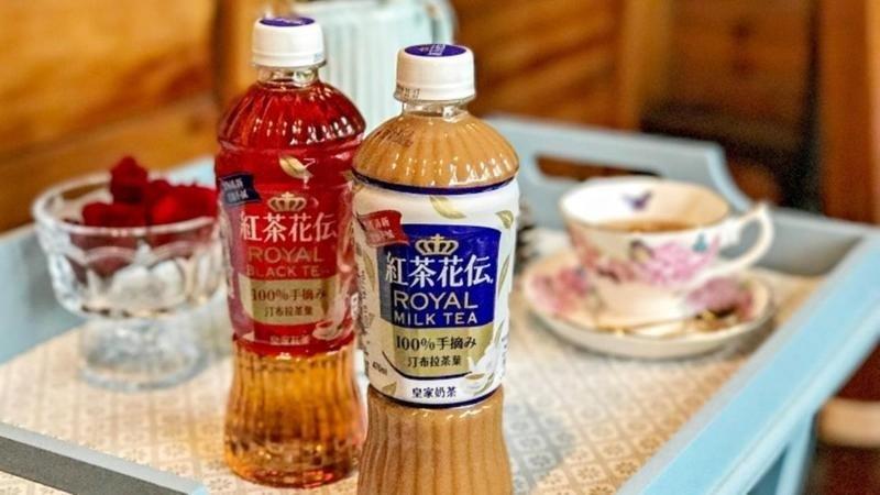 奶茶控必喝!日本超人氣老字號奶茶「紅茶花伝」引進台灣啦~