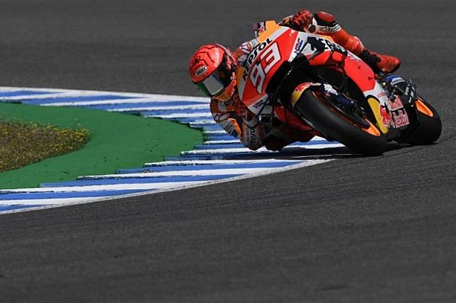 Marquez merasa air fence menyelamatkannya ketika kecelakaan di Jerez