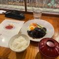 ハンバーグ - 実際訪問したユーザーが直接撮影して投稿した西新宿イタリアンDRA セブンの写真のメニュー情報