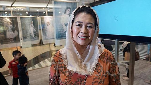 Yenny Wahid saat ditemui di pameran foto #IamTruly Women di Plaza Indonesia, Jakarta Pusat, Jumat 8 Maret 2019. TEMPO/Astari P Sarosa