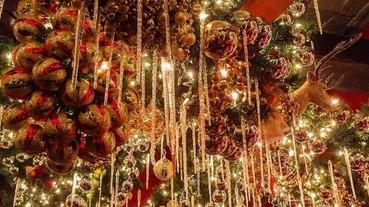 【聖誕週】這是世上最有聖誕氣氛的小屋吧?這間紐約餐廳花了 $65000 美金佈置,實在太瘋狂了!