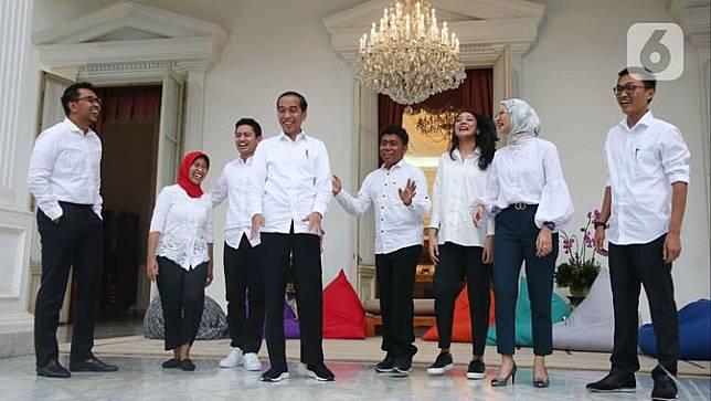 Jokowi Sebut 7 Staf Khusus Milenial Tak Punya Bidang Tugas, tapi Kerja Bareng