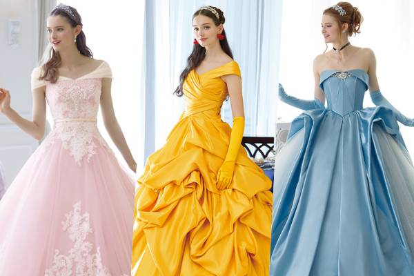 Inilah beberapa Gaun Pernikahan Edisi Disney Princess , Bikin Pangling