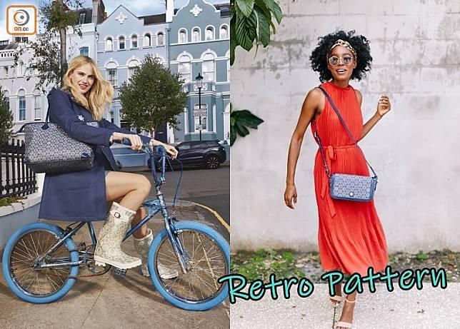 隨着秋天的到來,以印花馳名的Cath Kidston將多款復古味的印花融入不同款式的手袋,來喚醒秋天氣息。(互聯網)