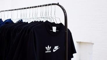Nike X adidas 世紀大和解期間限定店展開!?