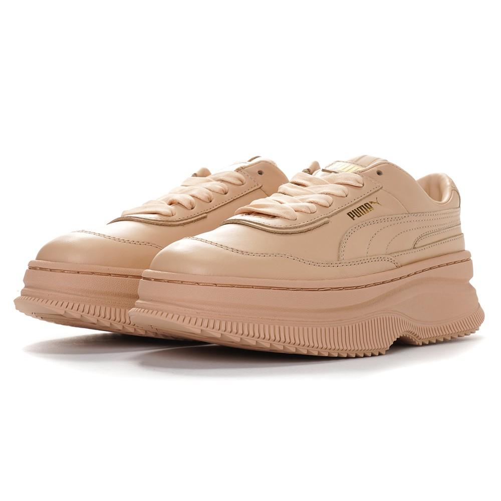 PUMA Deva Wn's 鞋款 鬆糕鞋 厚底鞋 37119902奶茶色 特價