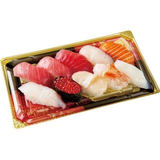 本まぐろ中とろ入り海鮮寿司(粋)