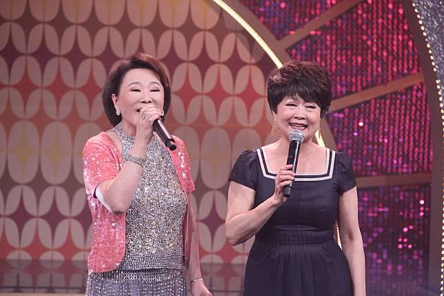 ▲張琴(左)與張琴登上年代《MUCH金點秀》。(圖/年代提供)