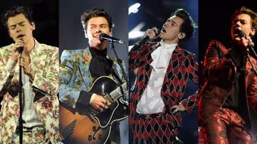 快看 Harry Styles 最愛「花紋西裝」型男穿搭 讓你瞬間從男孩晉升成優質品味男人!