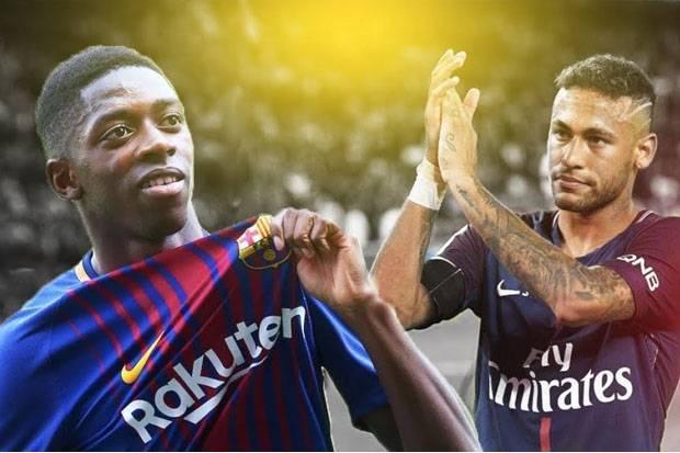 Dembele Berharap Bisa Bersaing dengan Neymar Jr