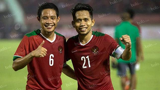 Andik Vermansah dan Evan Dimas