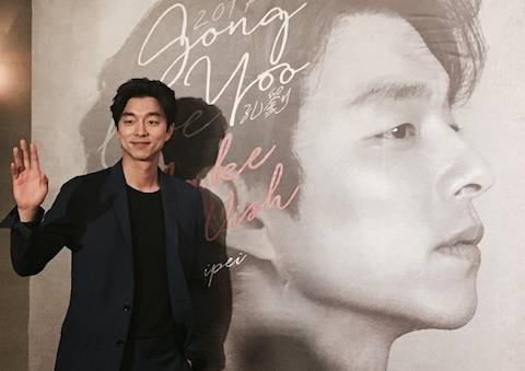 Dalam sebuah wawancara, Gong Yoo menyebut pengalamannya di Indonesia. Foto dari akun Instagram management_soop.