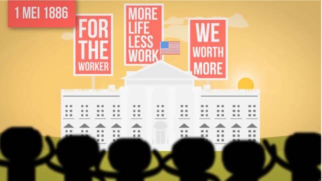 Akibat sudah lelah dengan realita yang ada, akhirnya gerakan pun lahir untuk nuntut jam kerja yang lebih 'normal'