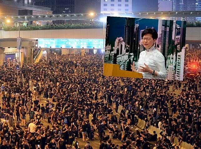 有市民指,林鄭月娥的致歉來得太遲。