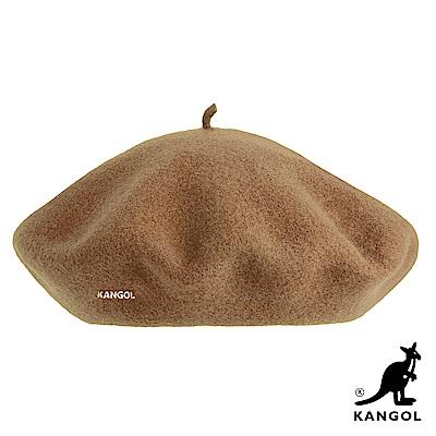 KANGOL貝蕾帽-土黃色