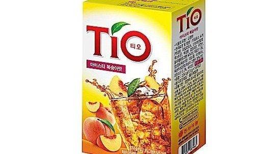 【進口零食】Tio水蜜桃冰茶