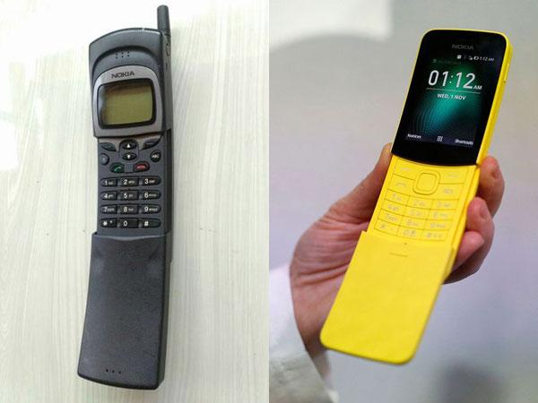 Nokia 8110 Pisang Reborn 2018