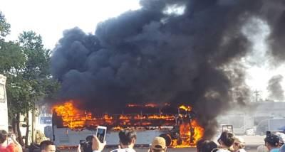 Cháy dữ dội ở Bến xe trung tâm Đà Nẵng