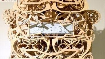 【有片】神發明!識寫時間的時鐘