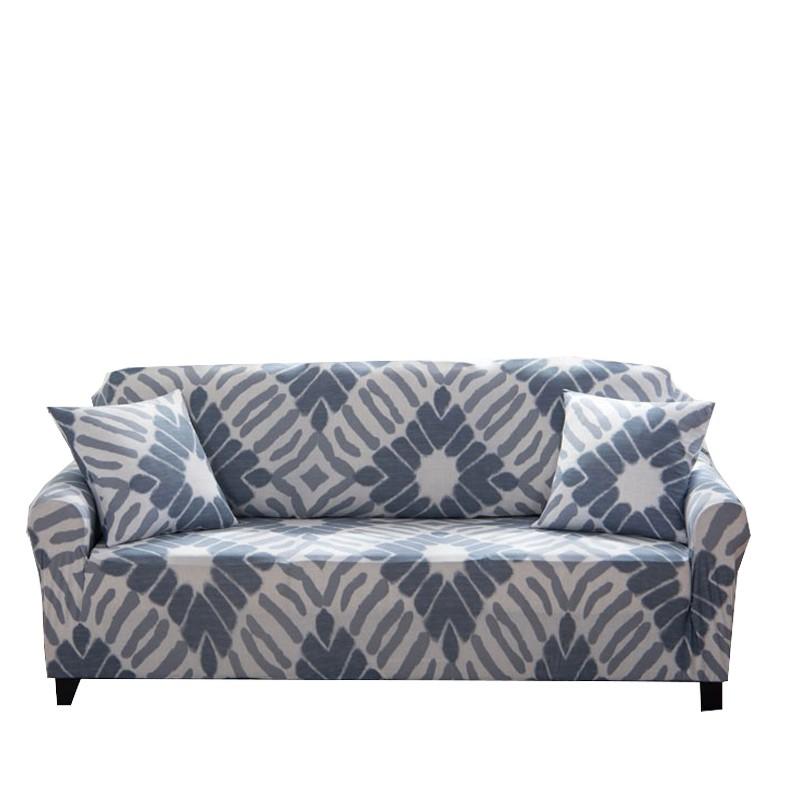 [送枕套壓條] 地中海風格幾何圖案萬能彈力沙發套 轉角沙發組合沙發套 單人雙人三人四人座尺寸 L沙發通用沙發套