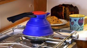 會自動瘦身的實用水壺!