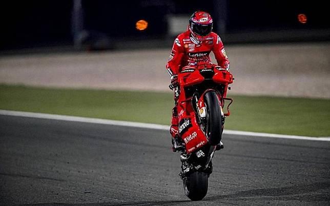 Hasil Latihan Bebas 2 MotoGP Spanyol 2021: Bagnaia Melesat, Valentino Rossi Makin Tercecer