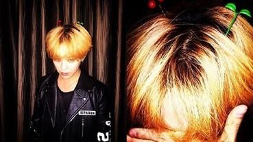 G-Dragon 到中國開唱入境隨俗 戴上「豆芽花」髮夾賣萌!