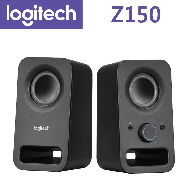 羅技 Z150 音箱 (黑) 喇叭 2聲道立體音效 多媒體揚聲器 Logitech〔每家比〕