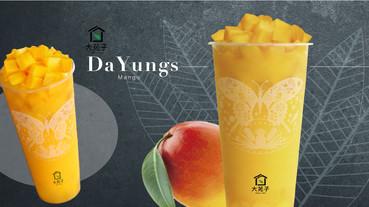 大苑子季節限定「在欉紅芒果冰沙」期間限定開賣啦!酸甜芒果冰沙全台限店販售必喝!