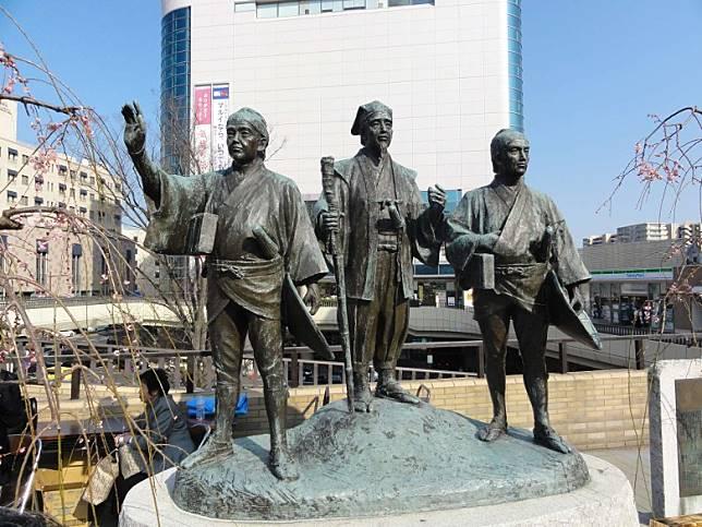 茨城縣也不是一無是處,水戶黃門便是來自茨城縣,如今在茨城縣可找到他的雕像。(互聯網)