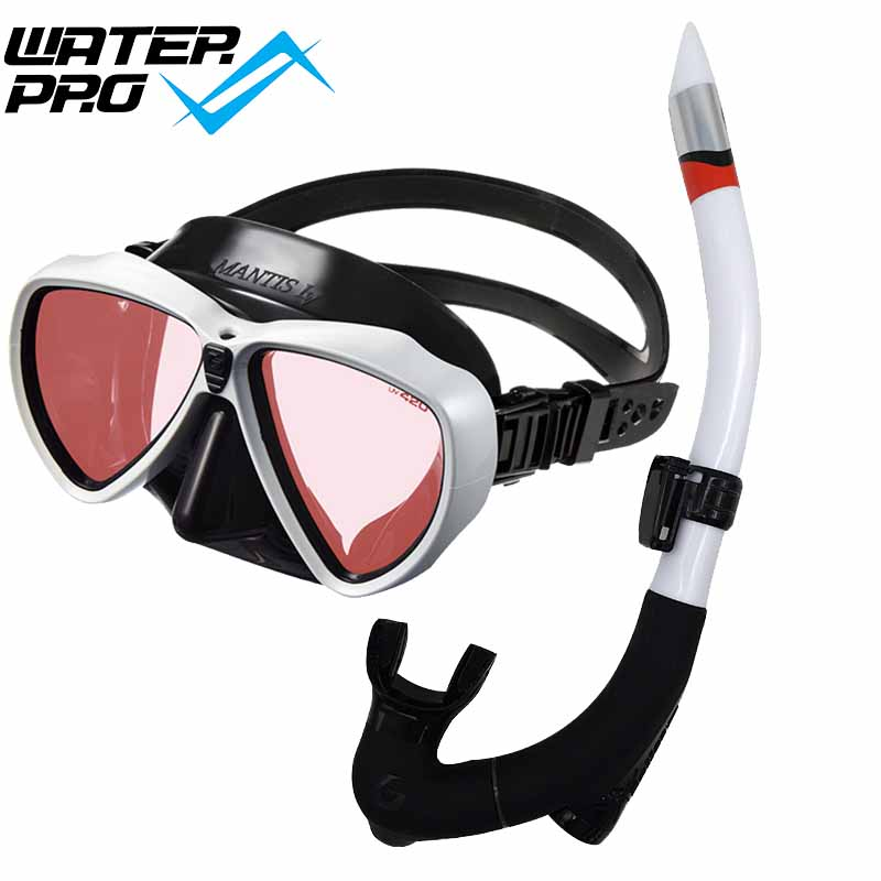 Gull日本MAN▊TIS LV鍍膜水肺面鏡阻擋UV可配近視防紫外線潛水面罩