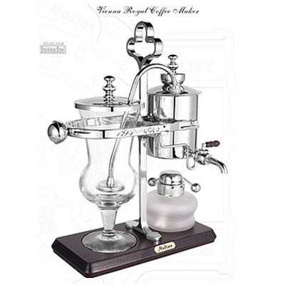 CF-450 比利時咖啡壺-銀色