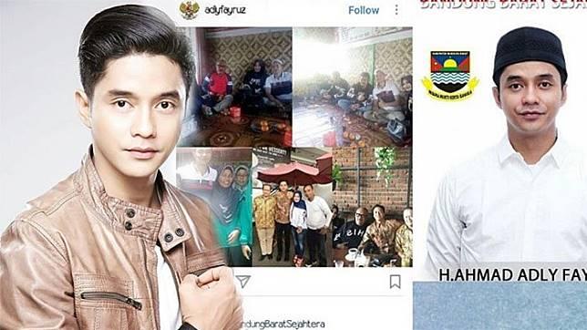 ™ Netizen Sibuk Tanyakan Hal Ini pada Adly Fairuz! Calonkan Bupati di Bandung Barat,